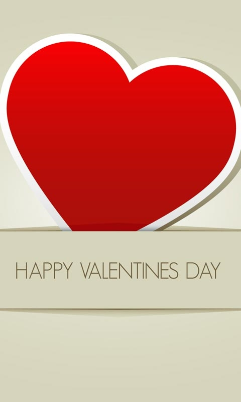 Happy Valentines Day Windows Phone Wallpaper