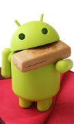 Android eat Biscuit