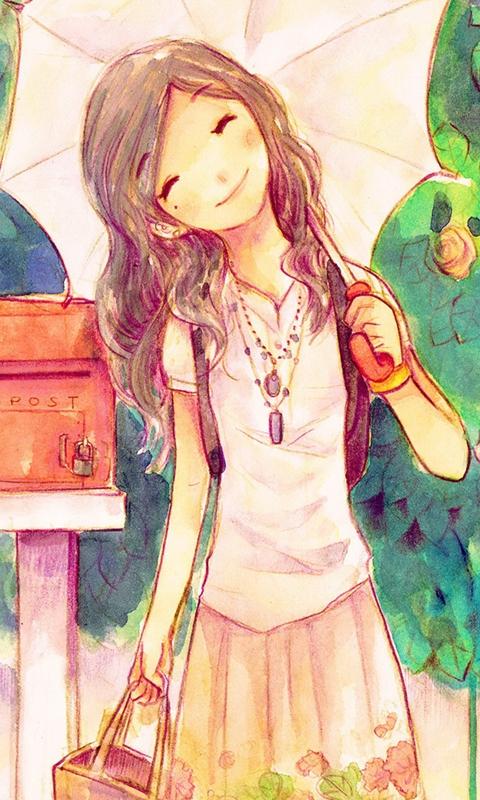 Smile Girl Windows Phone Wallpaper