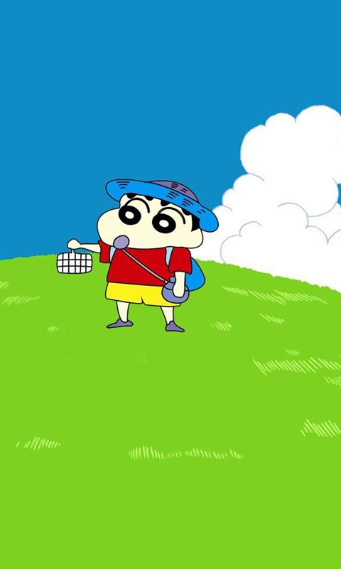 Crayon Shin-chan Windows Phone Wallpaper