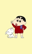 Crayon Shin-chan and Dog II