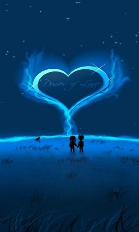 Love Night Windows Phone Wallpaper Freewpwallpapers