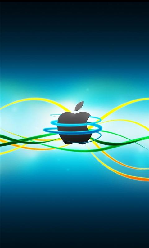 Line Apple Windows Phone Wallpaper