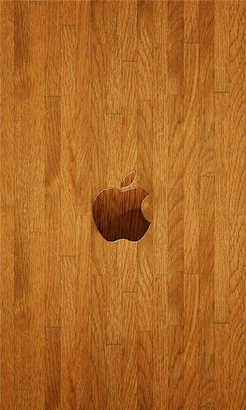 Woody Apple Windows Phone Wallpaper