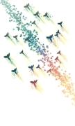Birds fly upwind