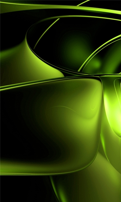 Green Abstract Windows Phone Wallpaper