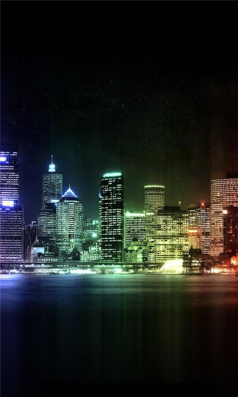City of Lights Windows Phone Wallpaper