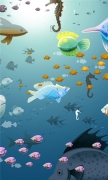 Underwater Shoal of fish