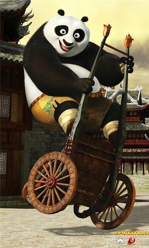 2011 Kung Fu Panda Windows Phone Wallpaper