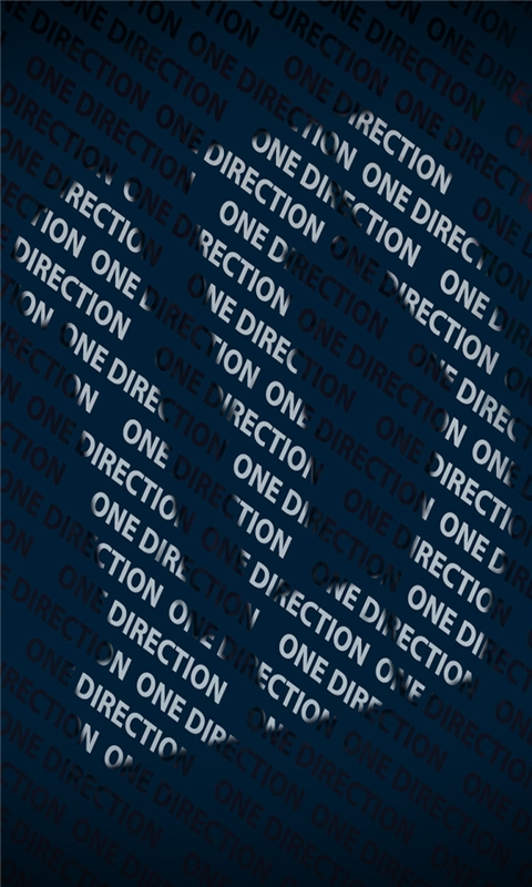 One Direction Windows Phone Wallpaper