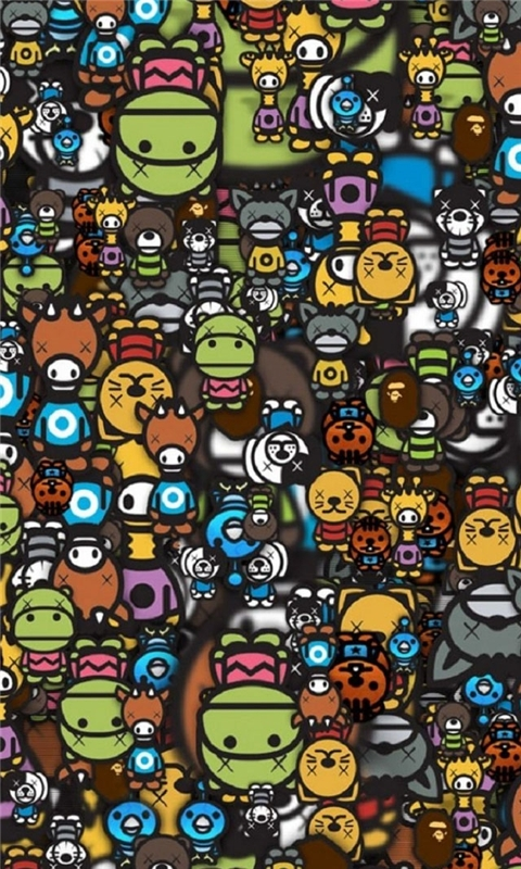 Animals Many Windows Phone Wallpaper