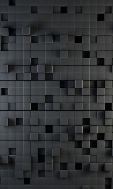 Gray Squares Windows Phone Wallpaper