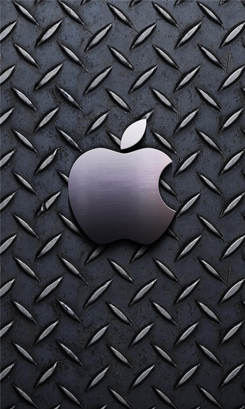 Apple Steel Windows Phone Wallpaper