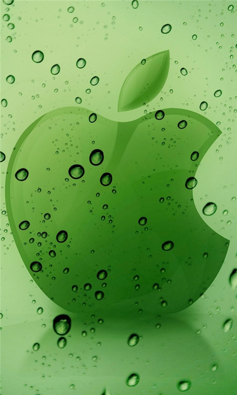 Apple Water Windows Phone Wallpaper