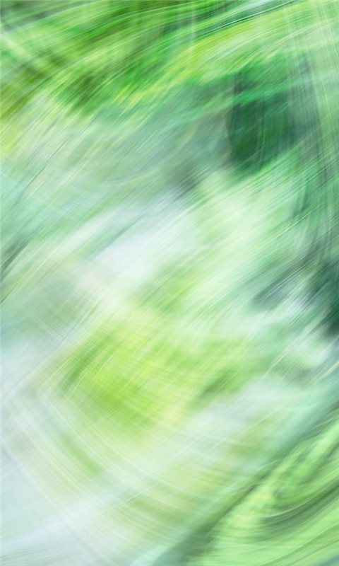 Green Painted Art Windows Phone Wallpaper