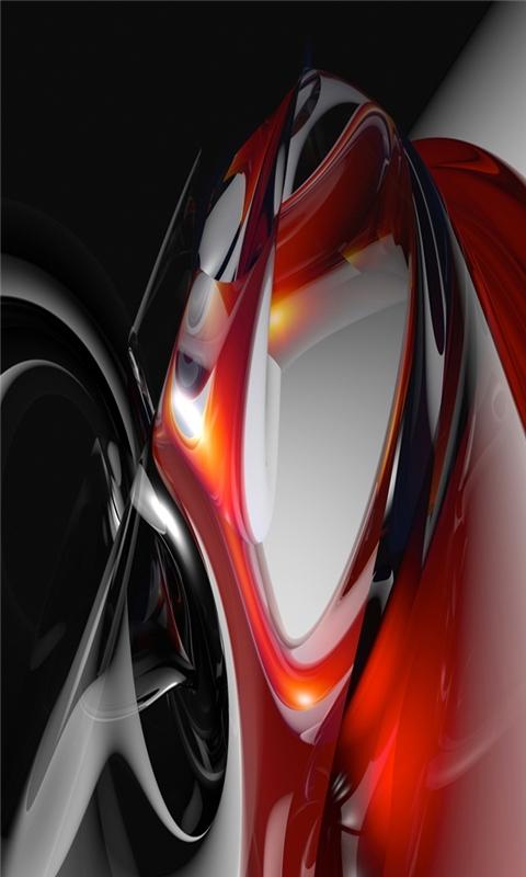 Dark Red Windows Phone Wallpaper