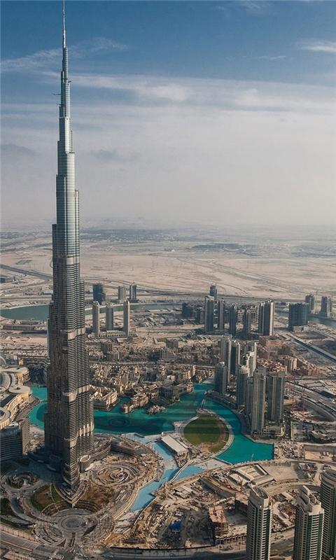 Burj Dubai Windows Phone Wallpaper