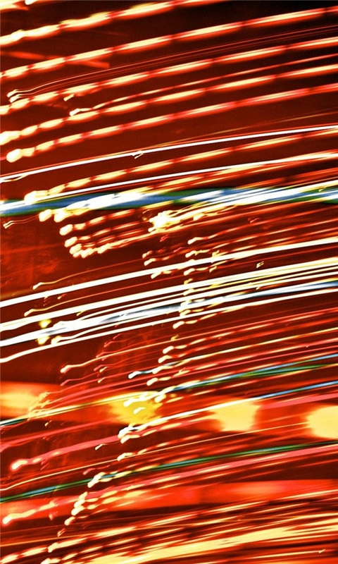 Long Shutter Lights Windows Phone Wallpaper