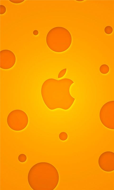 Cheese Apple Windows Phone Wallpaper
