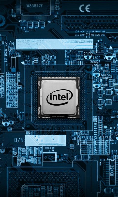 Intel Chip Windows Phone Wallpaper