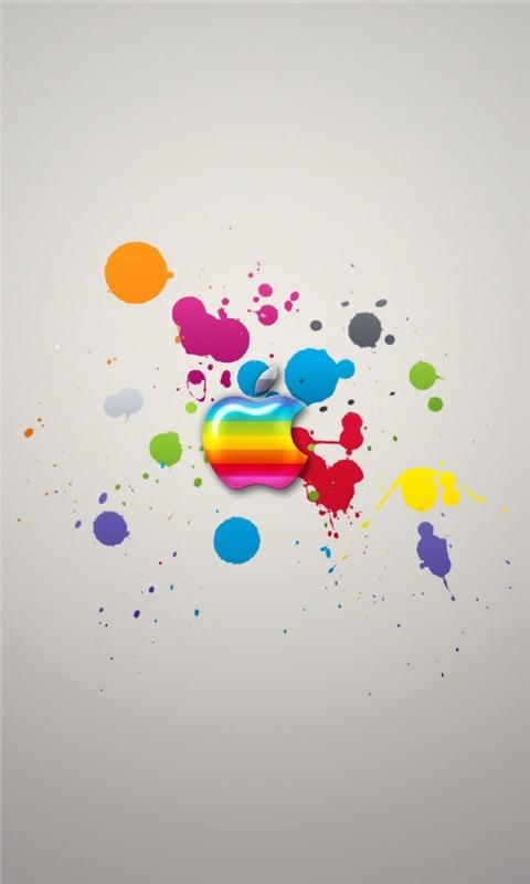 Apple Splash Windows Phone Wallpaper
