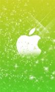 Green Flares Apple