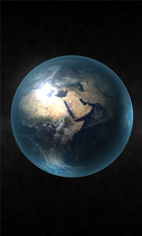 Earth HD Windows Phone Wallpaper
