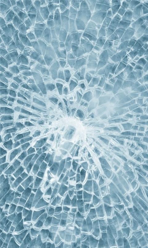 Texture of Broken Glass Windows Phone Wallpaper
