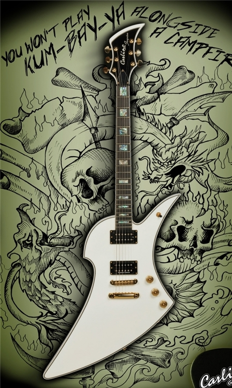 Carlino Guitar Windows Phone Wallpaper