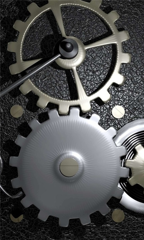 Gears In A Machine Windows Phone Wallpaper