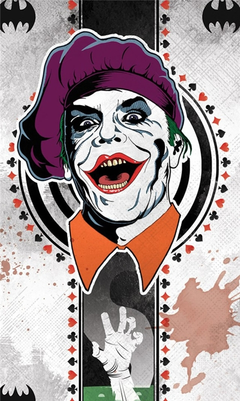 Joker Card Windows Phone Wallpaper