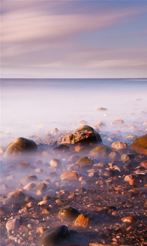 Misty Sea Windows Phone Wallpaper