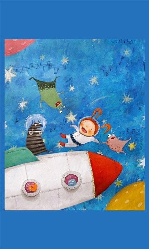 Childhood Imagination 3 Windows Phone Wallpaper
