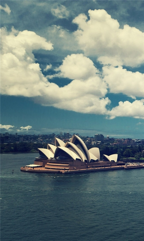 Sydney Opera House Windows Phone Wallpaper