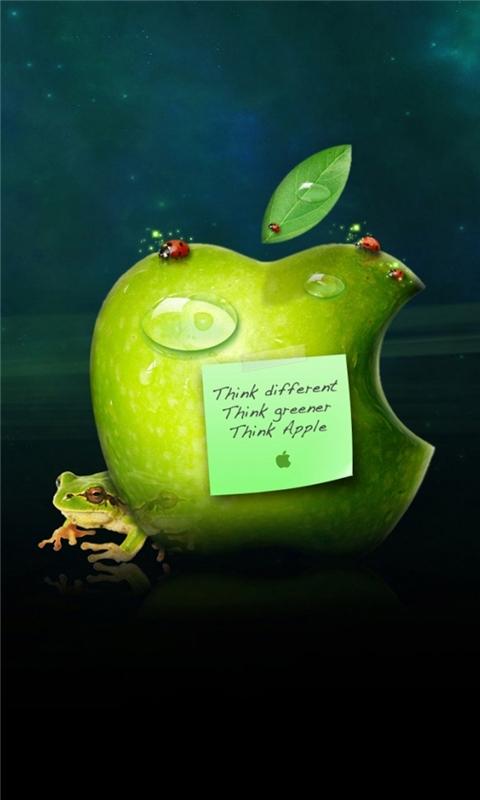Interesting apple Windows Phone Wallpaper