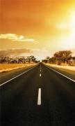Dusk highway