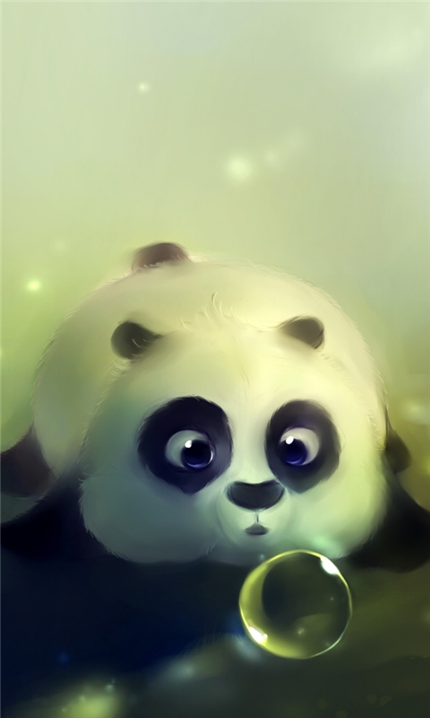 Funny Kung Fu Panda Windows Phone Wallpaper
