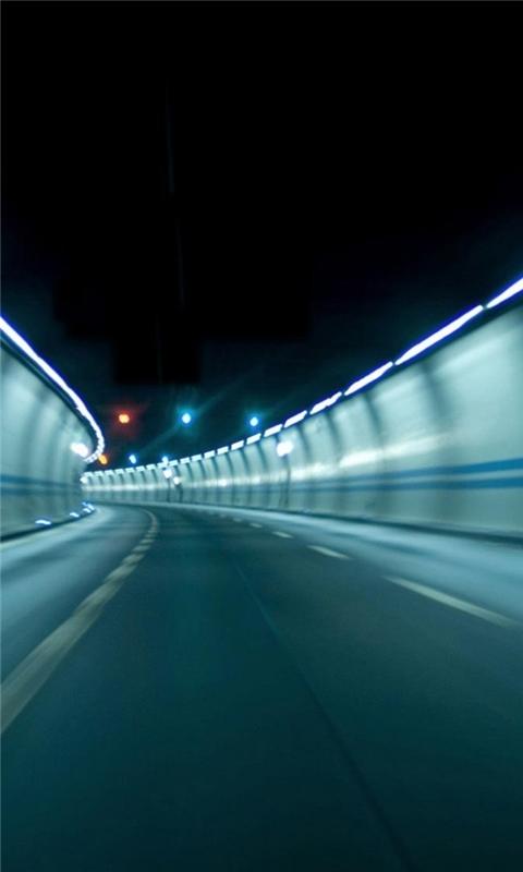 Tunnel Zurich Windows Phone Wallpaper