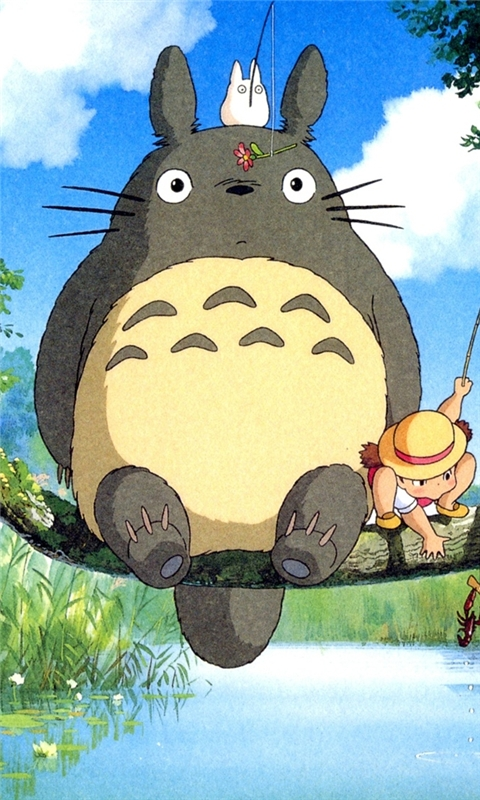 Ghibli My Neighbo Windows Phone Wallpaper