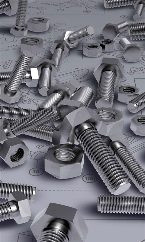 Screws On Blueprint Windows Phone Wallpaper