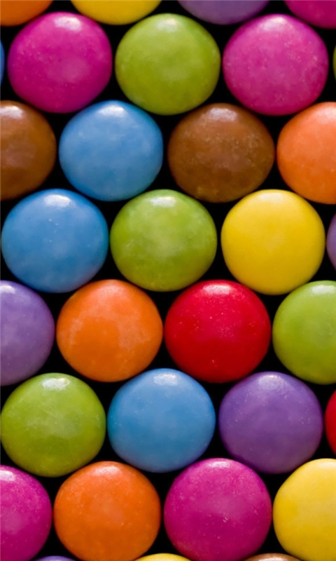Candy Windows Phone Wallpaper