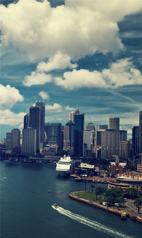 Sydney Windows Phone Wallpaper