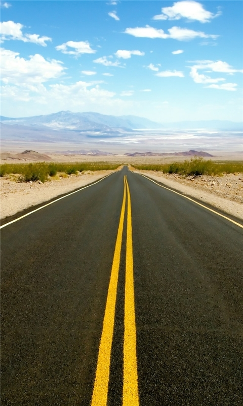 Road To Death Valley Windows Phone Wallpaper