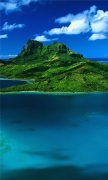 Beautiful Green Island