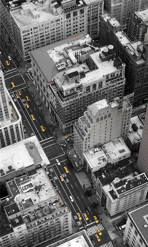 New York City Streets Windows Phone Wallpaper