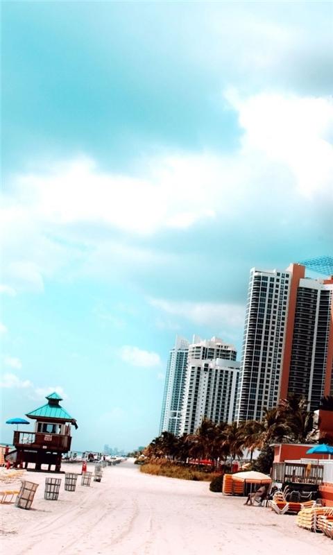 Miami Windows Phone Wallpaper