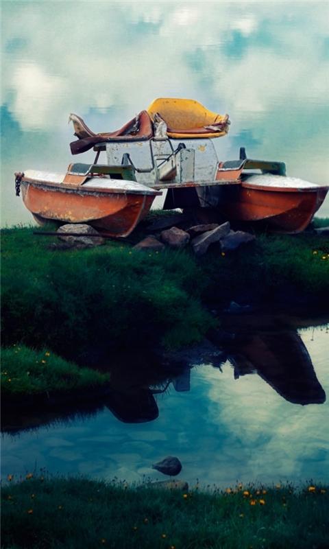 Flying Boat Windows Phone Wallpaper