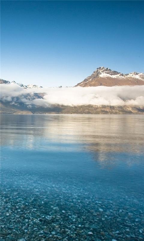 Mountain Lake Windows Phone Wallpaper