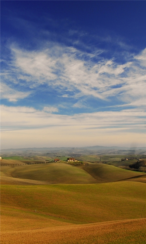 Tuscany landscape Windows Phone Wallpaper