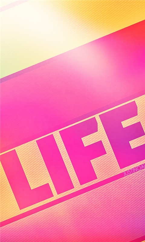 Life Windows Phone Wallpaper